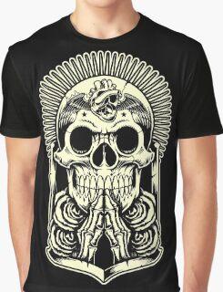 HOLLY SKULL Graphic T-Shirt
