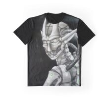 Robot Take Over Graphic T-Shirt