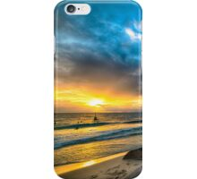 Sunset at Cottesloe iPhone Case/Skin