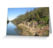 Supply River Flour Mill Ruins Greeting Card