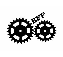 BFF Mechanism (black) Photographic Print