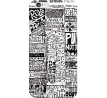 Gigs Calendar : YOU MAKE ME SICK  iPhone Case/Skin