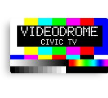 Videodrome - Civic TV Canvas Print