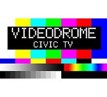 Videodrome - Civic TV Photographic Print
