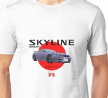 SKYLINE R34 GTR スカイライン Design Unisex T-Shirt