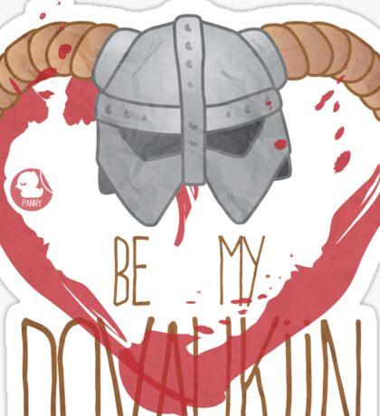 be my dovahkiin Sticker