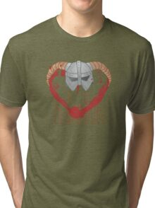 be my dovahkiin Tri-blend T-Shirt