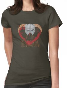 be my dovahkiin Womens Fitted T-Shirt