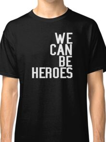 David Bowie We Can Be Heroes Tribute Charity Legend Classic T-Shirt
