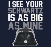 May The Schwartz Be With You! by ABC Tee!