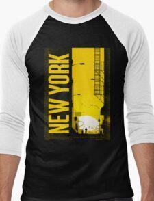 NEW YORK NEVER CLEEP Men's Baseball ¾ T-Shirt