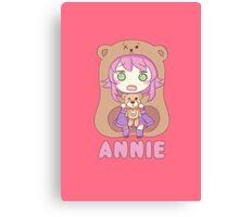 Annie chibi Canvas Print