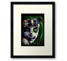 KILLER CLOWN Framed Print