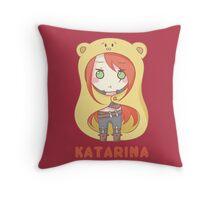 Katarina chibi Throw Pillow