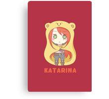 Katarina chibi Canvas Print