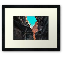 Light and Dark, Petra Jordan Framed Print