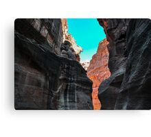 Light and Dark, Petra Jordan Canvas Print