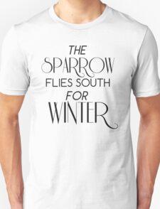 Skulduggery Pleasant: The Sparrow Flies South for Winter Unisex T-Shirt