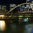 Ponyfish Island Evenings - Melbourne Australia by Norman Repacholi