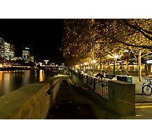 Leave no trace - Southbank Melbourne Photographic Print