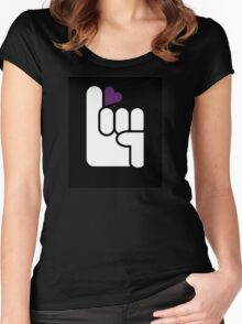 Hopeful Logo Women's Fitted Scoop T-Shirt