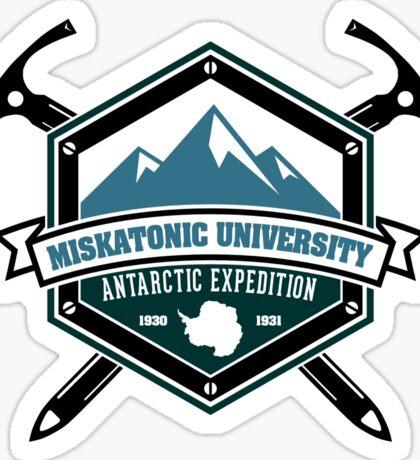 Miskatonic University Antarctic Expedition Sticker