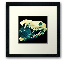 Jaws of Life Framed Print