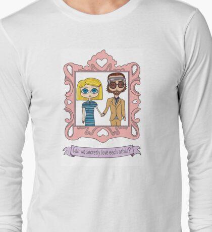 Royal Tenenbaums Secret Love Long Sleeve T-Shirt