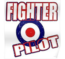 Fighter Pilot UK Poster