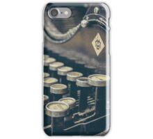 VIntage Typewriter iPhone Case/Skin