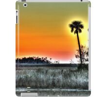 Backlit Palms at Sunset iPad Case/Skin