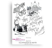 The Boston Cats Canvas Print