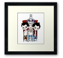 Faces of Moriarty Framed Print