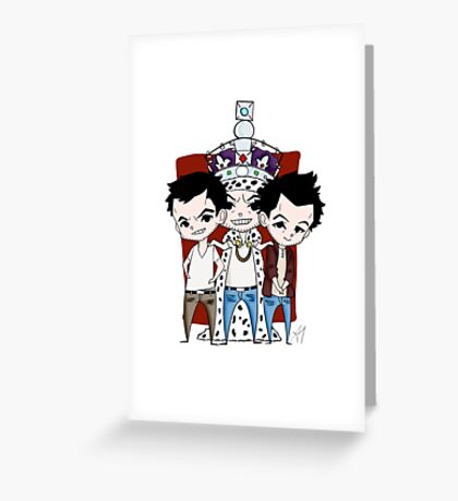 Faces of Moriarty Greeting Card