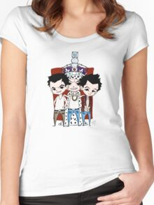 Faces of Moriarty Women's Fitted Scoop T-Shirt