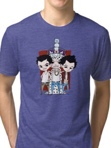 Faces of Moriarty Tri-blend T-Shirt
