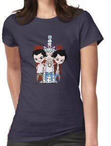 Faces of Moriarty Womens Fitted T-Shirt