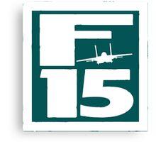 F15 in a box Canvas Print