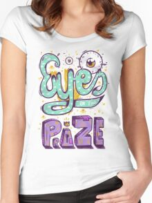 Eyes On The Prize! Women's Fitted Scoop T-Shirt
