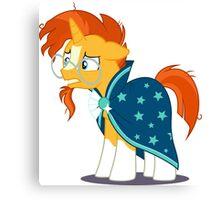 My Little Pony Sunburst Canvas Print