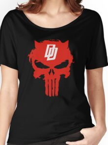 Daredevil The Punisher Symbol Women's Relaxed Fit T-Shirt