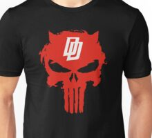Daredevil The Punisher Symbol Unisex T-Shirt