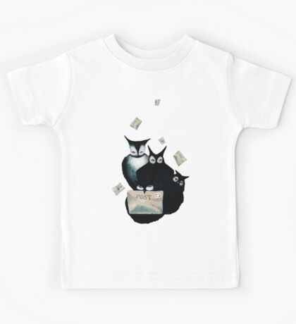 The Owl Postal Service Kids Tee