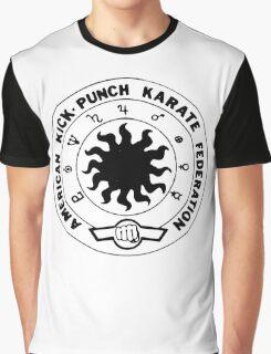 american kick punch karate federation Graphic T-Shirt
