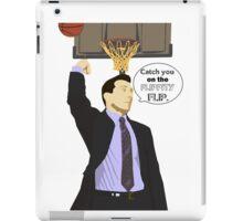 Catch you on the flippity flip iPad Case/Skin