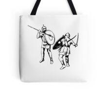 Biblical Battle Tote Bag