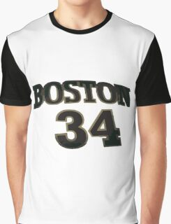 boston celtics 34 Graphic T-Shirt