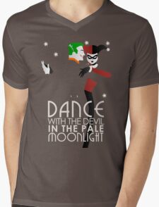Dance with the Devil in the Pale Moonlight Mens V-Neck T-Shirt