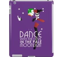 Dance with the Devil in the Pale Moonlight iPad Case/Skin