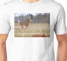 Deer Run - White-tailed deer Unisex T-Shirt